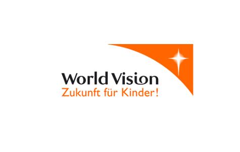 Logo World Vision Deutschland - Zukunft für Kinder!