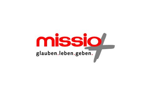 Logo missio - Glauben. Leben. Geben.
