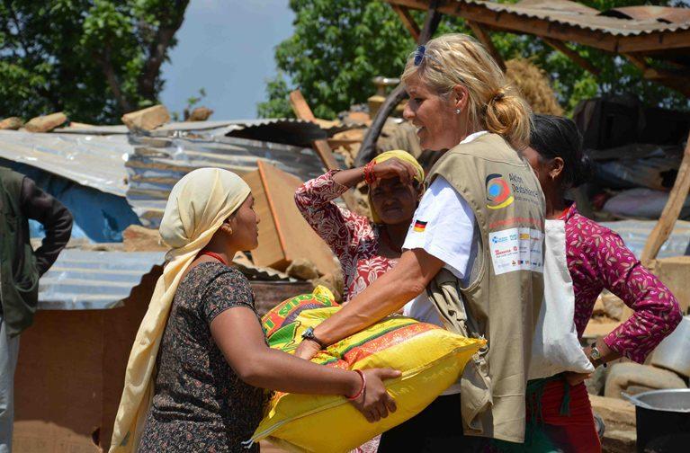 Katastropenvorsorge mit Aktion Deutschland Hilft